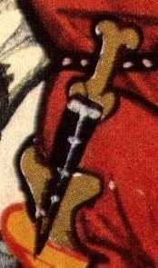 Herr Leuthold von Seven: Dolch Messer