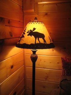 Moose Lamp Shade - Foter