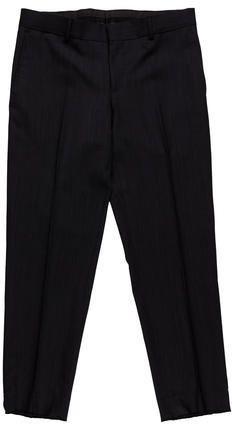 Gucci Wool Flat Front Trousers Gucci Flats, Mens Dress Pants, Charcoal, Trousers, Wool, Stylish, Fashion, Trouser Pants, Moda
