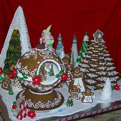 Amazing Gingerbread Houses | Gingerbread House Decorating Contest | Flourish - King Arthur Flour's ...