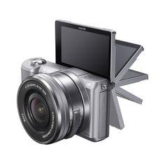 Sony Alpha a5000 Mirrorless Digital Camera with 16-50mm OSS