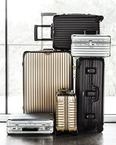 Going somewhere? Travel with this awesome Rimowa classic flight luggage. Click to buy the set on ShopStyle