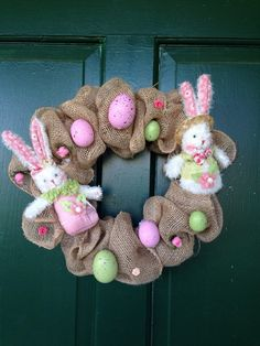 Yet Another Beautiful Handmade Easter Wreaths Collection - ArchitectureArtDesigns.com