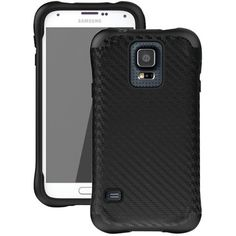 Ballistic Samsung Galaxy S 5 Urbanite Case (black Carbon Fiber And Black) - MNM Gifts Music System, Electronic Gifts, Samsung Galaxy S, Electronics Gadgets, Cell Phone Cases, Carbon Fiber, Cell Phone Accessories, Technology, Black