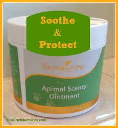 Animal Scents Ointment - Young Living's perfect remedy for skin issues, eczema, rashes, itching, dry skin and cracked heals.