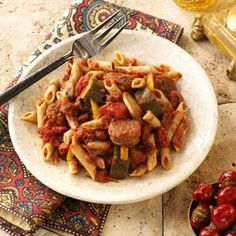 Italian Sausage Marinara with Penne Recipe  -  delicious!!