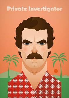 Tom Selleck as Magnum PI #stanleychow