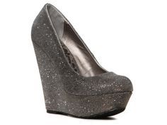 Dollhouse Sensual Wedge Pump:: LOVE THESE! Think you could walk in these @Holly Elkins Sigafoos and @Miranda Marrs Viechec-Lingbaoan?