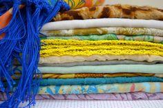 Tecidos e crochet
