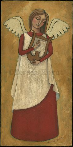 Praise with the harp by Teresa Kogut