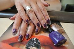 Shellac Fall Winter 2012 in Rock Royalty and Ice Capp brush effect
