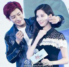 Chanyeol & Seohyun