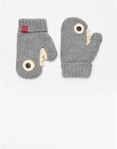 JNRJAWS Shark Mittens Knitted Mittens Pattern, Knit Mittens, Mitten Gloves, Crochet For Kids, Crochet Baby, Knit Crochet, Wrist Warmers, Cute Outfits For Kids, Crochet Projects