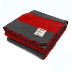 Wisconsin Badgers Wool Blanket