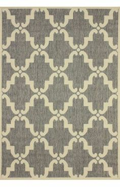 Rugs USA Aperto Outdoor Trellis Grey Rug