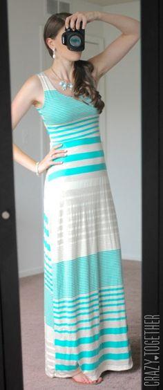 Maxi dress not long enough for
