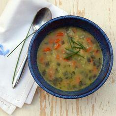 Sopa de pollo en la thermomix Cheeseburger Chowder, Soup, Chicken, Cooking, Ethnic Recipes, Bellini, Recipes, World, Food