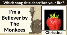 Which song title describes your life?