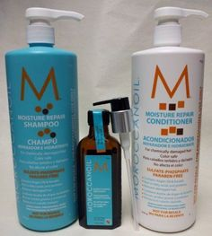 #Moroccanoil Moisture Repair #Shampoo, #HairConditioner &  #OilTreatment for normal gorgeous looking #hair