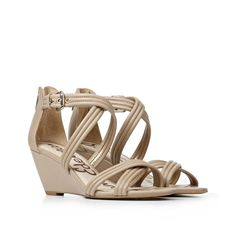 These would be great for work. Perfect balance between wearable and stylish. Low Heel Shoes, Low Heels, Shoes Heels, Bridesmaid Shoes, Wedges, Nude, Stylish, My Style, Unique