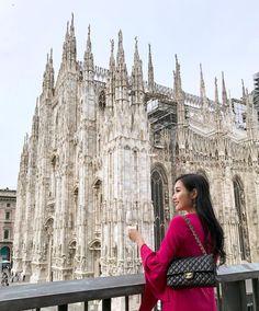 Instagram (@ofleatherandlace) Milan Duomo, Italy