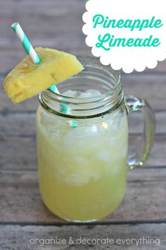 Pineapple Limeade...add vodka