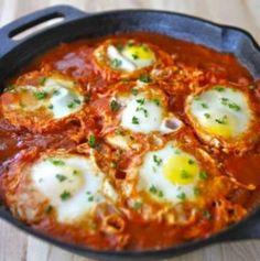 Шакшука - яйца по арабски- Shakshuka - eggs Arabic