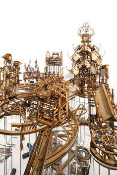 Conceptual Architecture, Architecture Drawings, Architectural Section, Architectural Models, Bartlett School Of Architecture, Landscape Model, Cardboard Sculpture, Fantasy Model, Landscaping Near Me