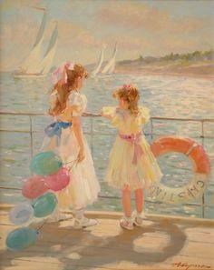 Alexander Averin - On Board the Yacht (CRISTINA)