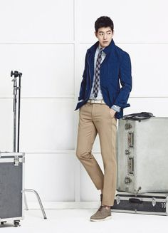 "Actor Lee Sang Yoon Suits Up for Spring in the New Pictorial for Brand Wear ""Tremolo"" 