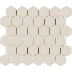 Hexagon Tile Bathroom, Pebble Mosaic Tile, Hexagon Backsplash, Hexagon Tiles, Marble Mosaic, Kitchen Backsplash, Lowes Tile, Grey Wall Tiles, Tile Covers