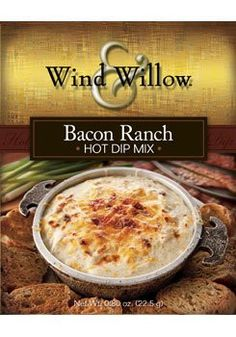 Bacon Ranch hot dip mix, from Wind & Willow.