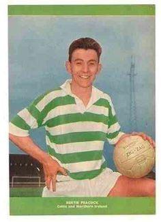 Bertie Peacock of Celtic in 1954.