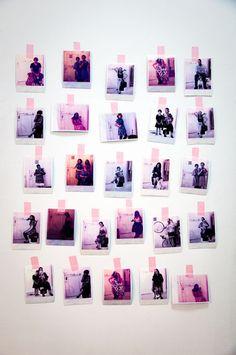 Polaroids @ Northern Oddities in New York with Ivana Helsinki Polaroids, Helsinki, Washi, Tape, Sweet Home, Photo Wall, York, Reading, Decor