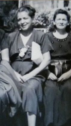 "My maternal Grandmother Isaura Calderon Costello and maternal Grandfather Julio del Castillo Negrete.  The family name changed when coming the U.S. to ""Costello.""  Maternal Grandmother Costello with Aunt Aurora Sarra, beautiful. Calderon, Isaura (Costello) and Aurora (Sarra)"
