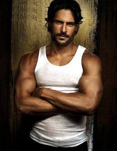 Joe Manganiello, I just can't....most gorgeous man EVER