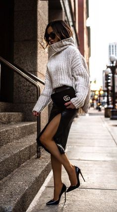 40 Outstanding Casual Outfits To Fall In Love With - Daily Fashion Fashion Mode, Fashion Blogger Style, Fast Fashion, Look Fashion, Winter Fashion, Fashion Trends, Fashion Bloggers, Fashion Ideas, Womens Fashion