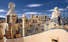 Gaudi arkitektur í Eixample
