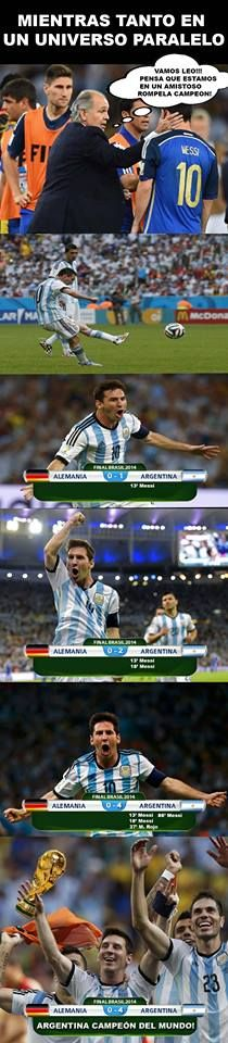 Meme Argentina Final Mundial 2014 Brasil