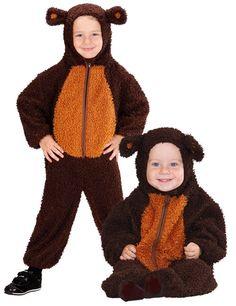 Bär Baby und Kleinkinderkostüm aus Plüsch braun aus unserer Kategorie Karnevalskostüme Baby. Mit diesem tollen Faschingskostüm verwandelt sich Ihr Kleiner in ein süßes, knuddeliges Bärchen!