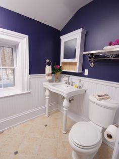 Traditional Spaces White Wainscoting In Bathroom Design, Pictures, Remodel, Decor and Ideas - page 2