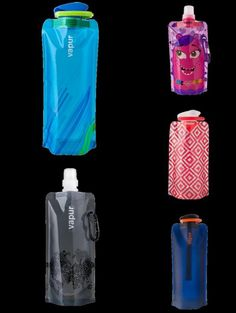 Vapur- the anti bottle- water bottle ! BPA free, foldable, dishwasher and freezer safe, and perfect for staying hydrated on the go