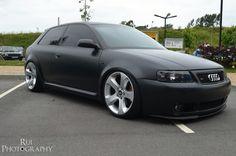Black Matte Audi S3 8L