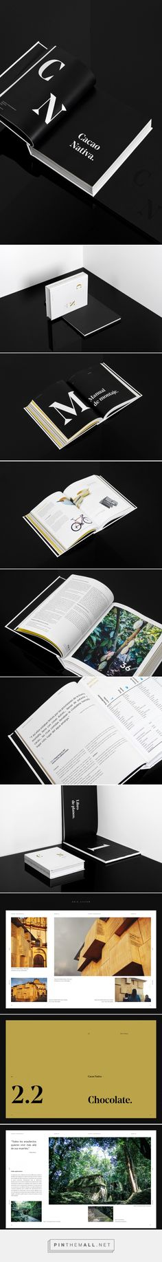 Cacao Nativa Book on Behance - created via https://pinthemall.net