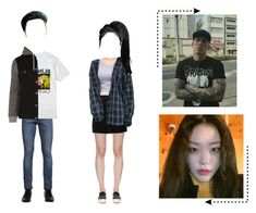 """Bone (뼈) Kevin and Yeana at Arcade with Ivy"" by bone-official ❤ liked on Polyvore featuring April 77, Hot Topic, River Island, STELLA McCARTNEY, Versus, IRO and boneandfriends"
