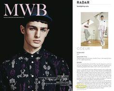 Menswear Buyer Magazine March 2013