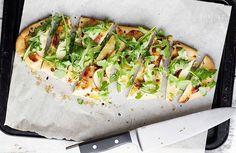 Makkelijk en snel: Flatbread pizza! Probeer deze heerlijke recepten voor een flatbread pizza eens uit.