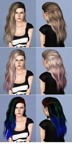Hairstyles - DescargasSims-CC