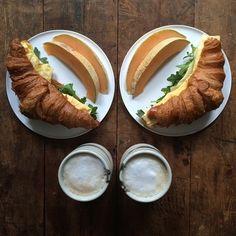 Symmetry Breakfast | Idealne śniadania dla dwojga! - CzytajNiePytaj - Magazyn Online. Sztuka, Moda, Design, Kultura