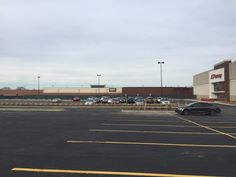 New entrance to JCPennys and Dick's- where it used to be the inside mall 12/2015